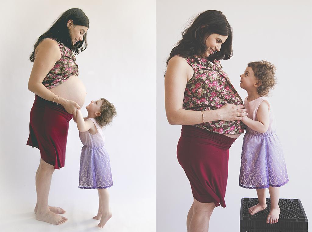צילומי הריון תמר ונעמי