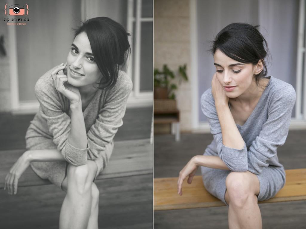 צילומי תדמית - בוק שחקנית